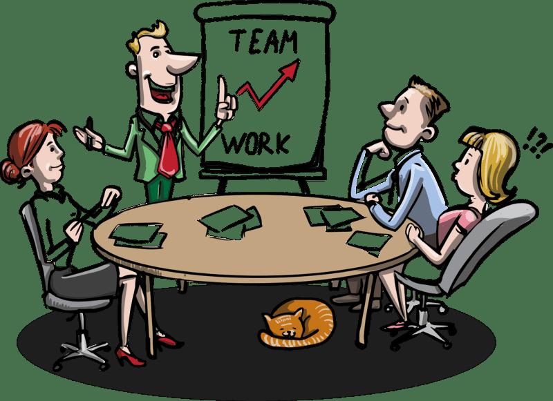 ישיבת צוות בעבודה