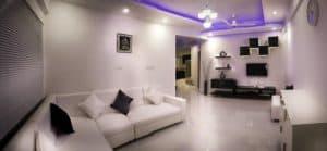 איך מתאימים תאורה לסלון קטן