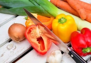 חיתוך ירקות